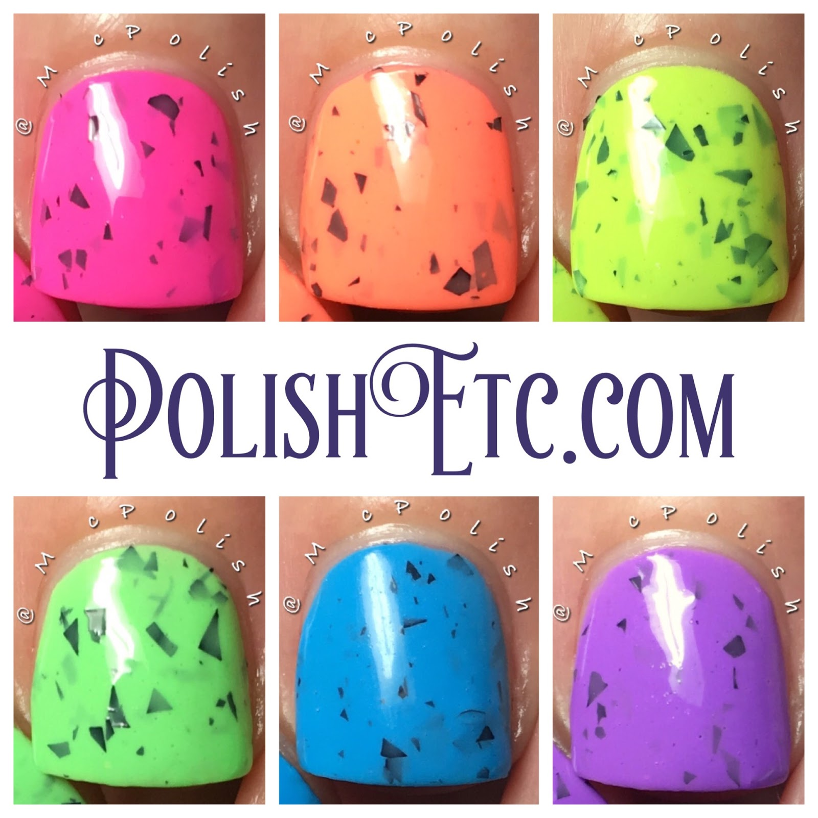 Nine Zero Lacquer - Smoothie Bar Collection - McPolish
