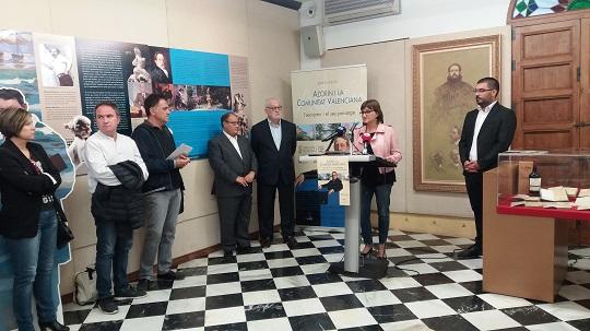 Cultura inaugura una exposición sobre la trayectoria literaria de Azorín y edita un cómic para difundir la figura del escritor de Monóvar