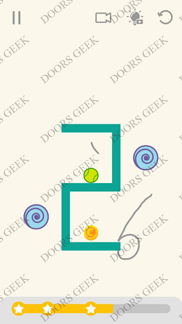 Draw Lines Level 68 Solution, Cheats, Walkthrough 3 Stars for Android and iOS