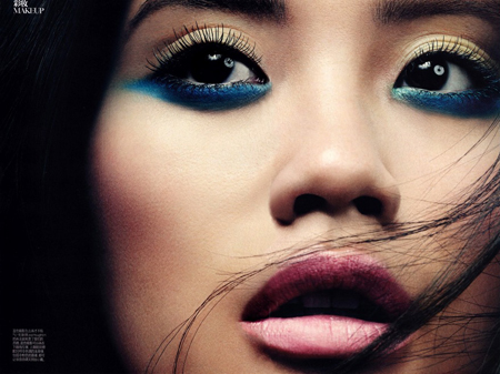 Resultado de imagem para two toned eyeliner