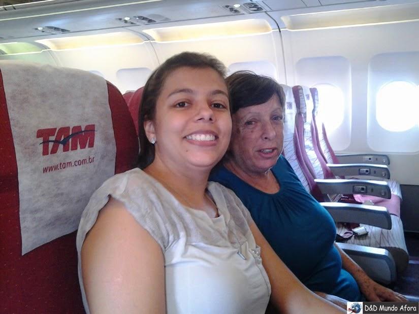 Viagem de avião para Cancun - México