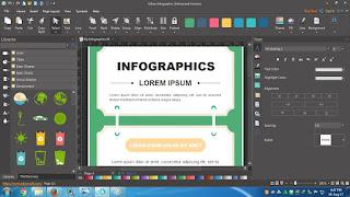 Membuat infografis termudah , Membuat infografis paling mudah