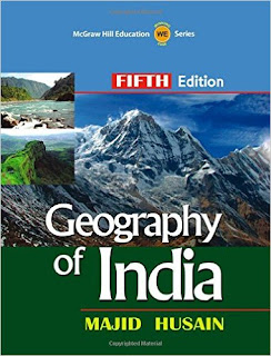 Geography Of India by Majid Husan