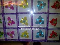 souvenir bros daun anggur, souvenir pernikahan, Souvenir pernikahan murah,  souvenir bros