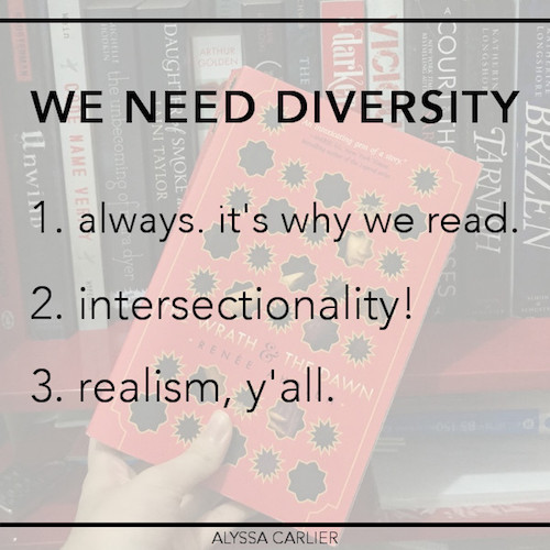 Reasons #WeNeedDiverseBooks and too much diversity is a fallacy