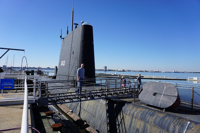 Boarding the USS Clamagore Submarine