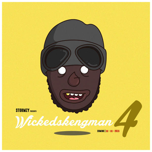 Stormzy - WickedSkengMan 4 - Single Cover