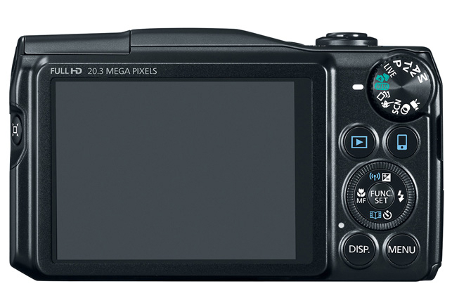 Canon PowerShot SX710 HS Digital Camera Back / LCD View