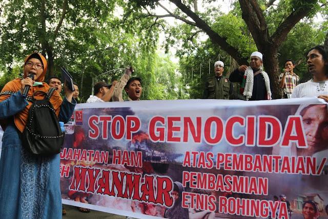 Indonesia Bersuara untuk Rohingya