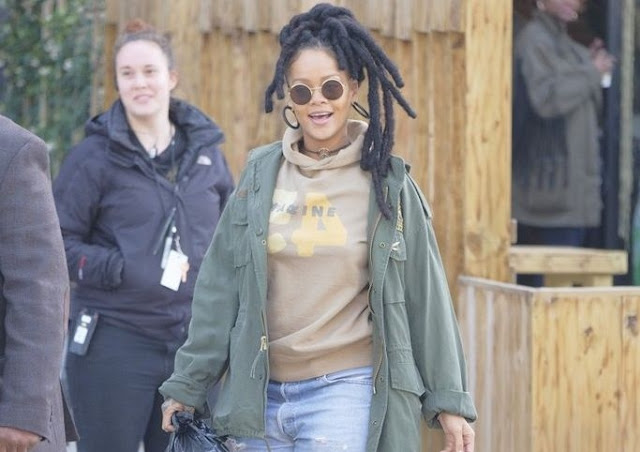 Birthday gift is A Big gift as Rihanna welcomed chris-brown with him gift