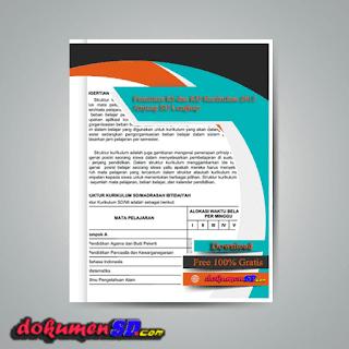 Download Pemetaan KI dan KD Kurikulum 2013 Jenjang SD Lengkap