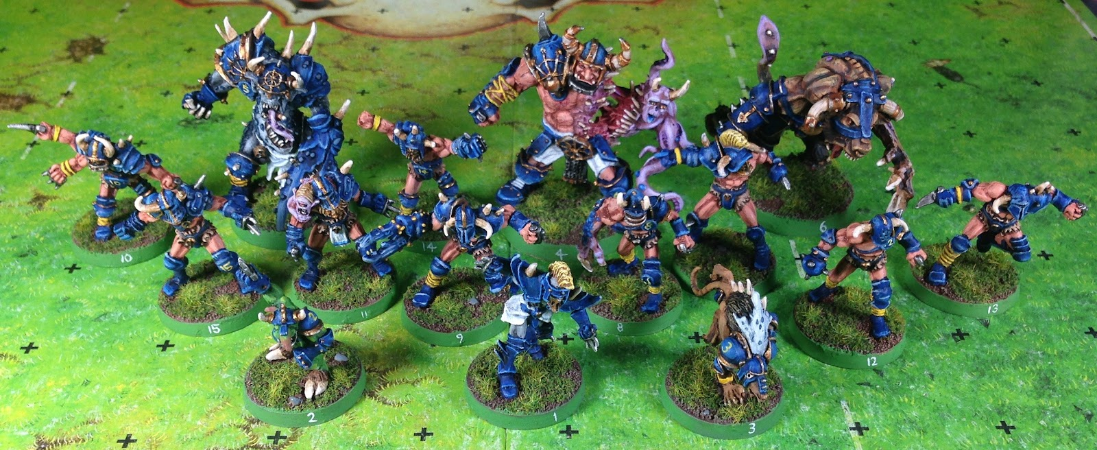 Wargaming With Barks Blood Bowl Chaos Pact
