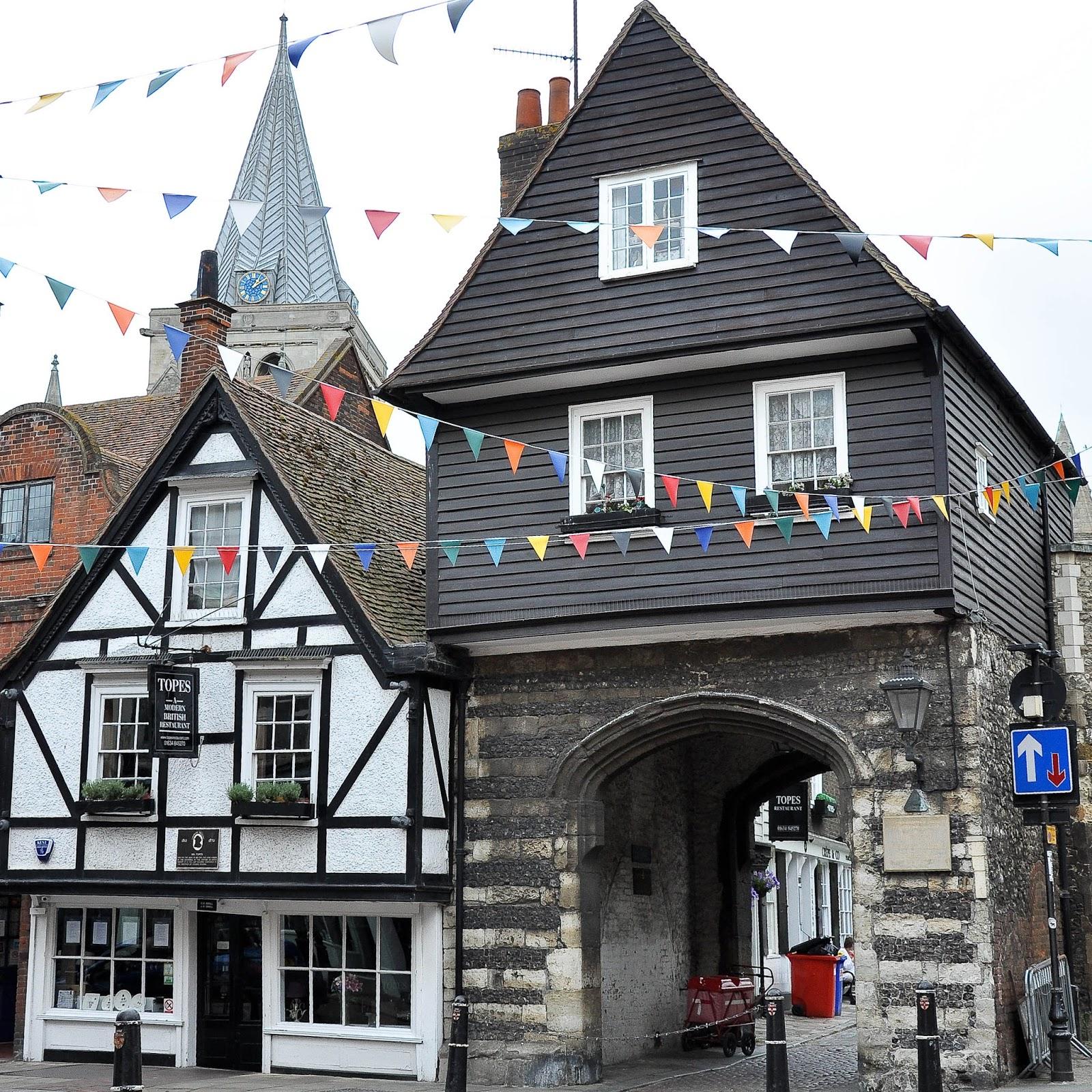 Mr Topes Restaurant, Rochester High Street, Kent, UK