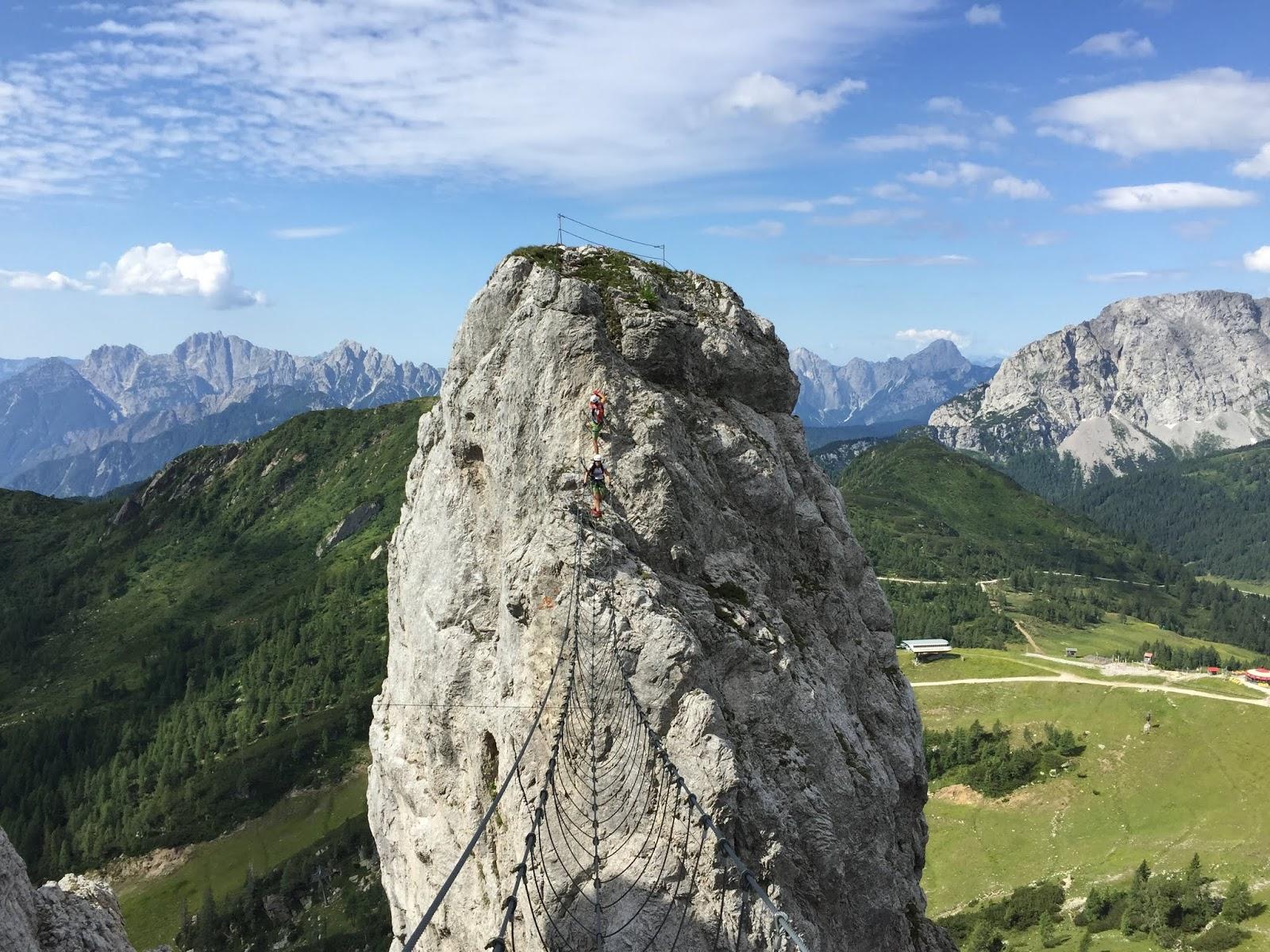 Klettersteig Däumling : Aufdiebergbinigern: über den däumling klettersteig auf gartnerkofe