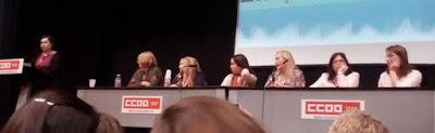 Mar Vaquerizo, María José Tirado, Moruena Estríngana, Carla Crespo, H.D. Cruz, Sylvia Marx y Maríah Evans