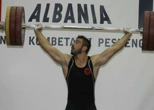 Albanian Weightlifter Daniel Godelli Champion of Europe