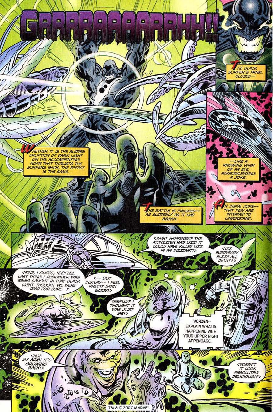 Silver Surfer (1987) Issue #118 #126 - English 12
