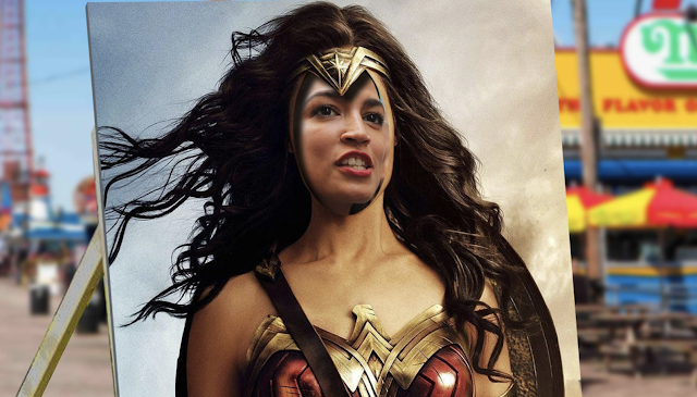 DC Comics sends cease-and-desist over Alexandria Ocasio-Cortez Wonder Woman comic book cover