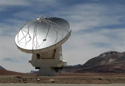 telescopio Alma dell'Osservatorio europeo meridionale (Eso) in Cile