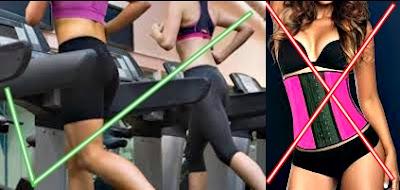 Hacer ejercicio con faja ayuda a adelgazar
