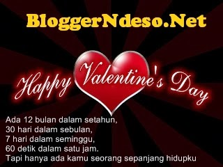Kata Kata Ucapan Romantis Hari Valentine 14 Februari 2017