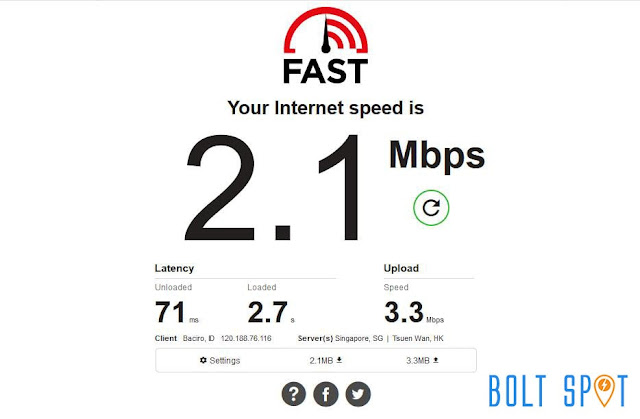 Fast.com Netflix Internet Speed Test