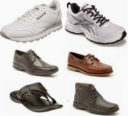 Men's Branded Sports, Casual & Formal Shoes: Flat 60% Extra Cashback @ Paytm