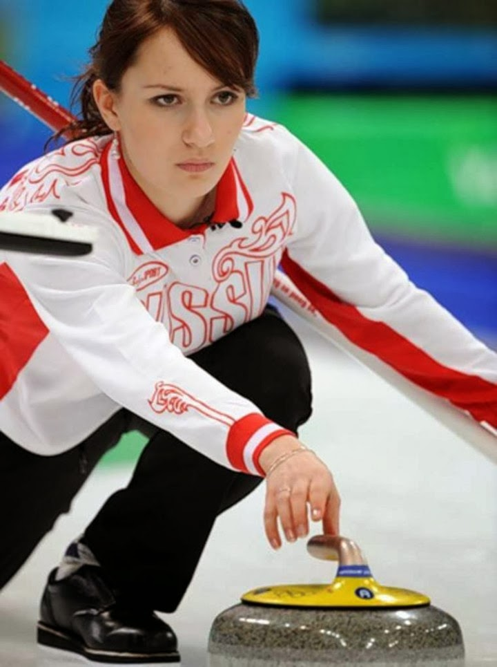 Russian curling team