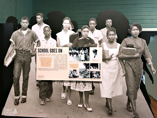 The Green McAdoo Cultural Center takes you on an exploration of how Jim Crow laws affected African American students in eastern Tennessee, the events that led to the desegregation of Clinton High School, and how the entire community stood together in the face of pressure & hatred from the outside and refused to back down.
