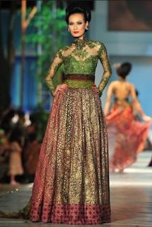 Model Kebaya Modern Ivan Gunawan Terbaru 2016