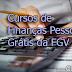 Cursos de Finanças Pessoais Grátis da FGV
