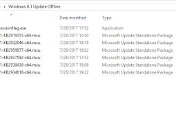 Cara Install Windows 8.1 Update Secara Offline