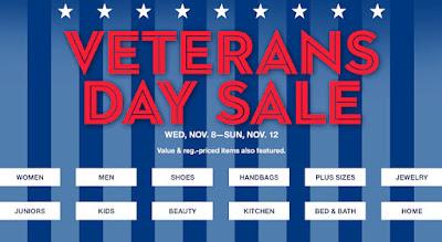 Macy's Veterans Day Sale