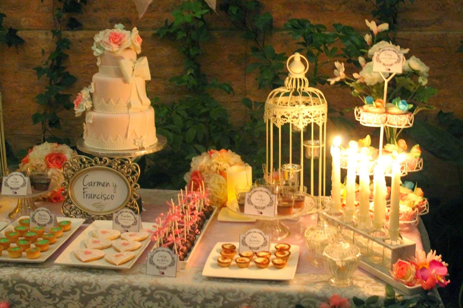 Dulces Y Pasteles De Boda: Tendencias: Candy Buffet O Buffet De Dulces Mesas Dulces