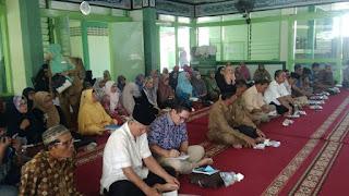 Edukasi Kesehatan kepada Calon Jamaah Haji Kecamatan Padang Timur bersama GEMAHATI dan SUSU HAJI SEHAT, Kota Padang