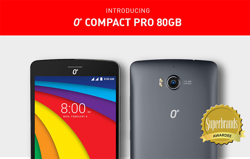 O+ Compact Pro 80 GB Announced, A Photography Phone For PHP 11395