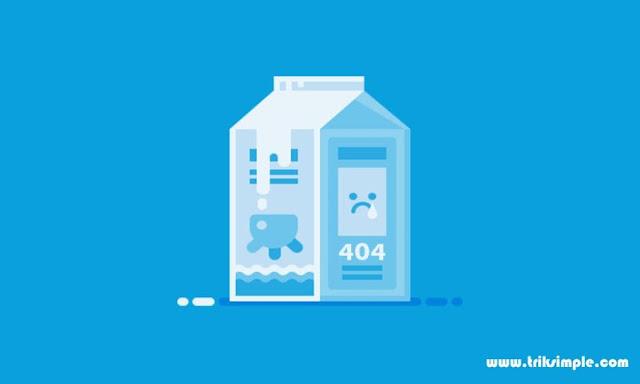 Cara Redirect Otomatis Halaman Error 404 Ke Homepage Pada Blog