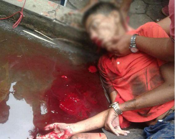 IMAGEM FORTE - Pistoleiro mata ex-presidiário na Praça São Francisco, no Centro de Marabá – VEJA