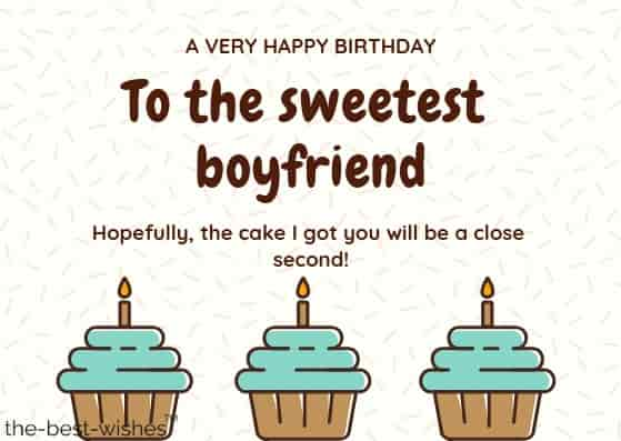 a very happy birthday wishes for boyfriend