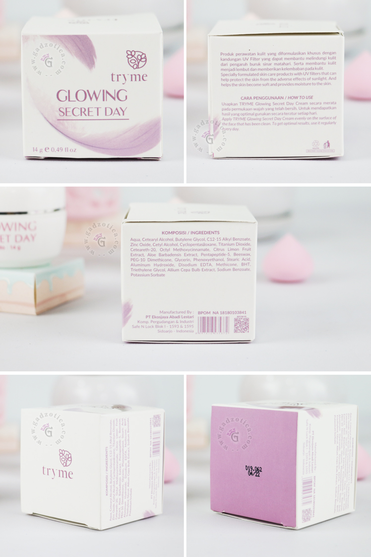 Review Tryme Glowing Secret Day