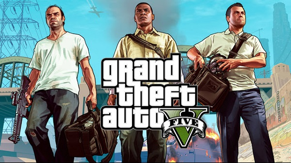 Download Grand Theft Auto (GTA) - 5 Android Full Apk Data Free Game