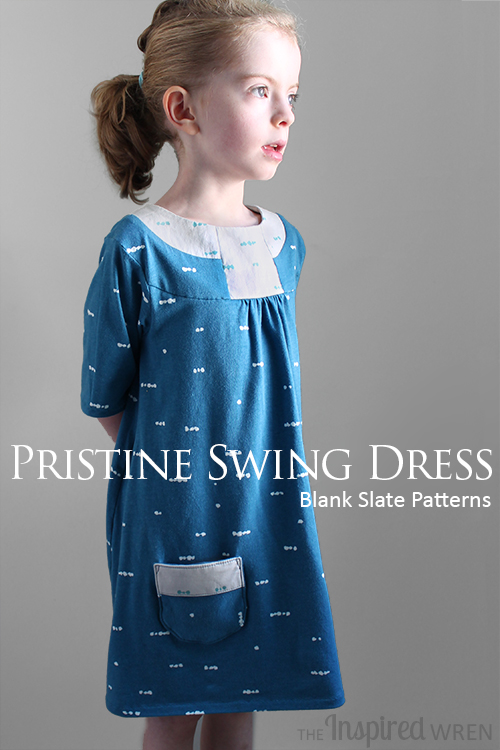 The Pristine Swing Dress from Blank Slate Patterns | Sewn by The Inspired Wren