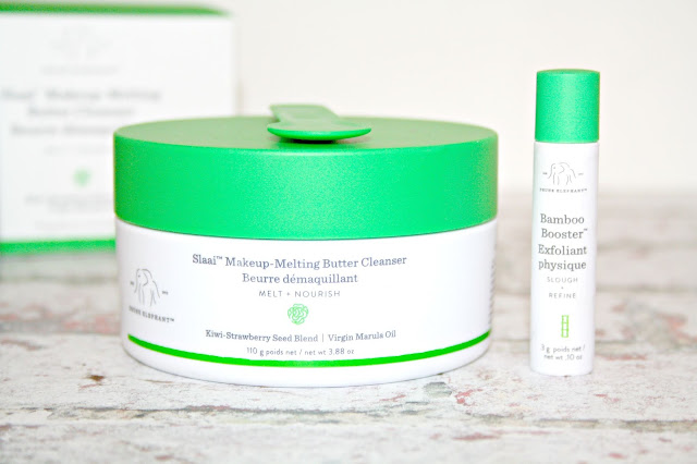 DRUNK ELEPHANT Slaai Makeup-Melting Butter Cleanser + Bamboo Exfoliant