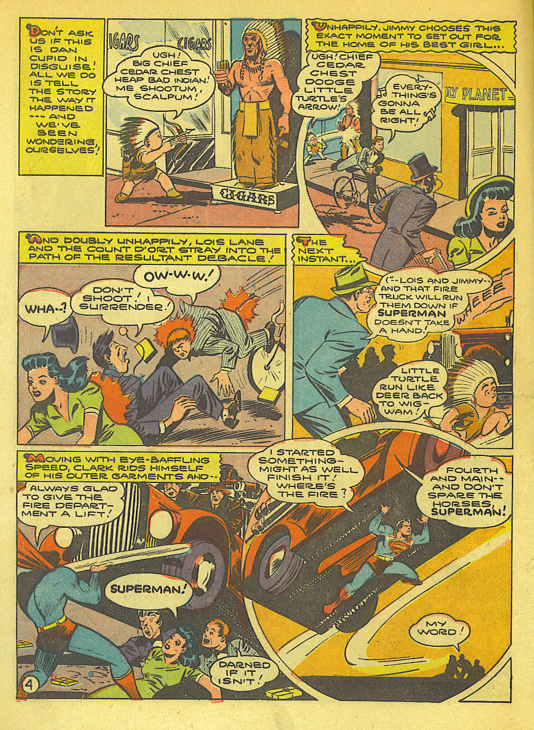 Read online Action Comics (1938) comic -  Issue #71 - 6