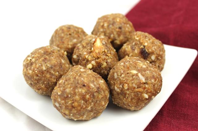 Nut and Raisin Protein Balls