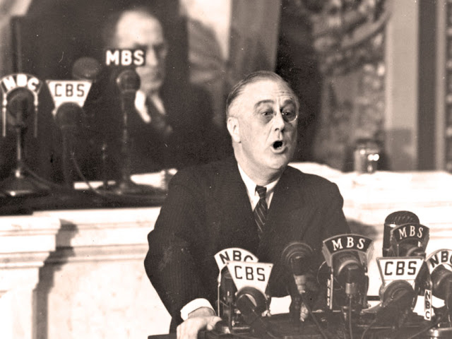 6 January 1941 worldwartwo.filminspector.com President Roosevelt Four Freedoms speech