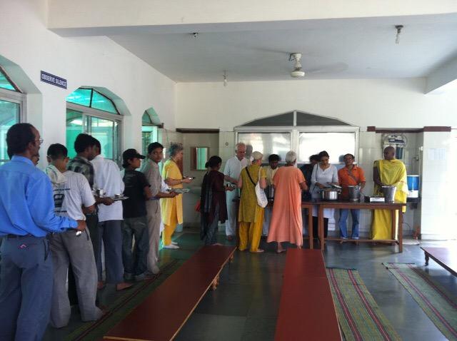Swami Rama Ashram Food
