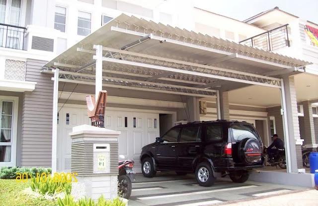 Model Garasi Rumah Sempit