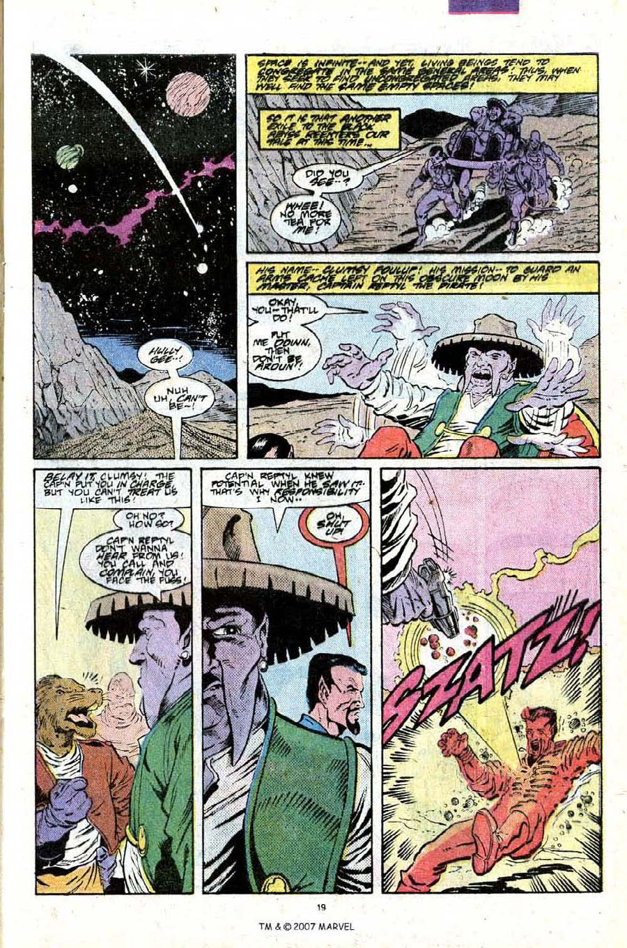 Read online Silver Surfer (1987) comic -  Issue #25 - 21