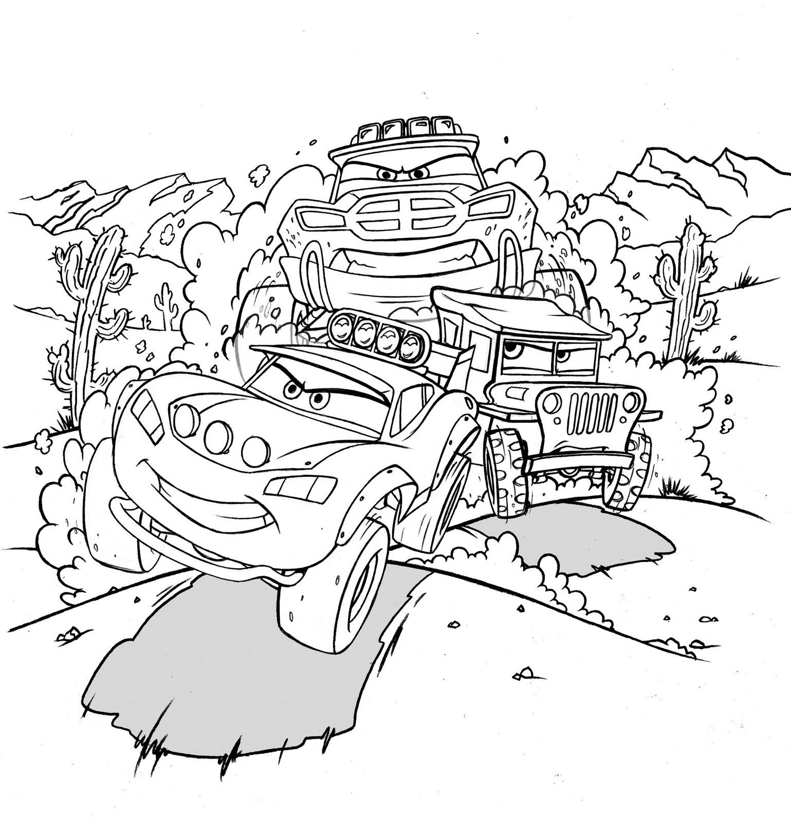 Ron Cohee Portfolio : Dust-Up in the Desert